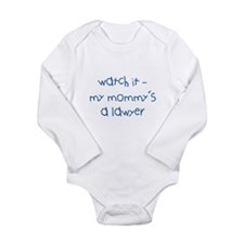 Mommy's a Lawyer Long Sleeve Infant Bodysuit