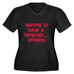Learning To Nurse A Hangover. Women's Plus Size V-