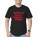 Learning To Nurse A Hangover. Men's Fitted T-Shirt