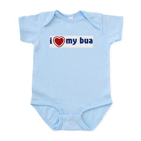 Infant Creeper: I Heart My Bua