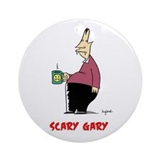 Scary Gary Ornament (Round)