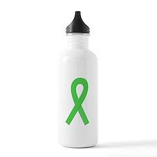 Lime Ribbon Water Bottle