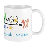 Kayak Math Coffee Mug