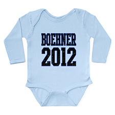 Boehner 2012 Long Sleeve Infant Bodysuit