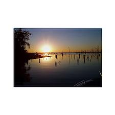 Lake Fork Sunset Rectangle Magnet