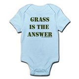 Grass is the Answer Infant Bodysuit
