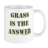 Grass is the Answer Mug