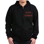 Alcohol Survivor Zip Hoodie (dark)
