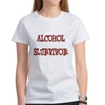 Alcohol Survivor Women's T-Shirt