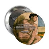 "Michelangelo Nude Painting 2.25"" Button (100 pack)"