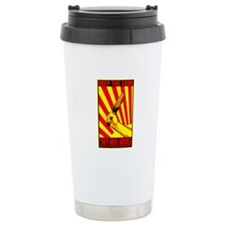 Obey the Cook Ceramic Travel Mug