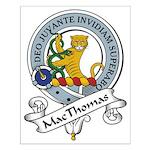 MacThomas Clan Badge Small Poster