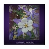 Colorado Columbines - Tile Coaster