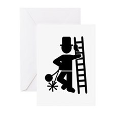 Chimney sweeper Greeting Cards (Pk of 20)