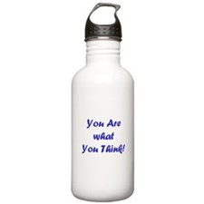 You Are What You Think Water Bottle