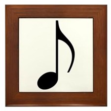 Music note Framed Tile