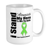 I Stand For My Hero Lymphoma Mug