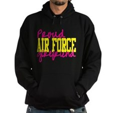 Proud Air Force Girlfriend Hoodie