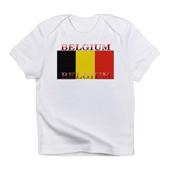 Belgium Belgian Flag Infant T-Shirt