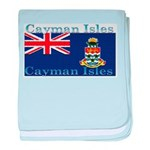 Cayman Islands baby blanket