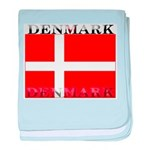 Denmark Danish Flag baby blanket