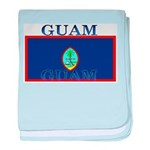 Guam Guaminian Flag baby blanket
