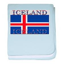 Iceland baby blanket