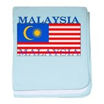 Malaysia Malaysian Flag baby blanket