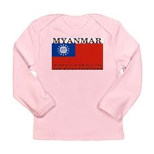 Myanmar Long Sleeve Infant T-Shirt