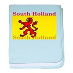 South Holland Flag baby blanket