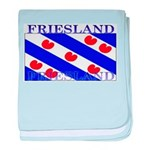 Friesland Frisian Flag baby blanket