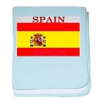 Spain Spanish Flag baby blanket