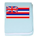 Hawaii Hawaiian Blank Flag baby blanket