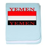 Yemen Yemeni Flag baby blanket