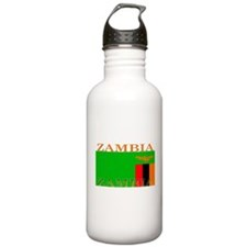 Zambia Zambian Flag Water Bottle