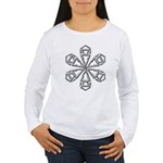 Snowflake Women's Long Sleeve T-Shirt