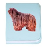 Bergamasco Sheepdog baby blanket