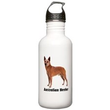 Australian Heeler Cattle Dog Water Bottle