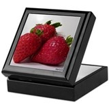 Strawberry Trio Keepsake Box