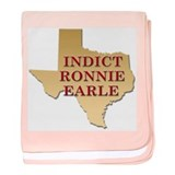 Indict Ronnie Earle baby blanket