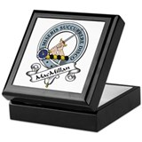 MacMillan Clan Badge Keepsake Box