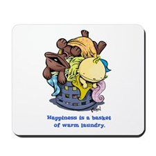 Dog eat Doug: Happiness Mousepad