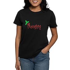 Naughty Womens T-Shirt