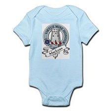 MacLean Clan Badge Infant Creeper