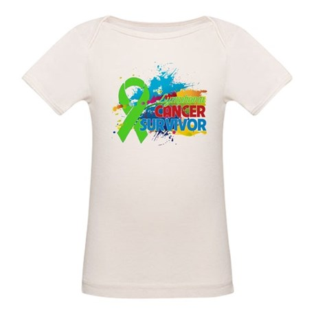 Colorful - Lymphoma Survivor Organic Baby T-Shirt