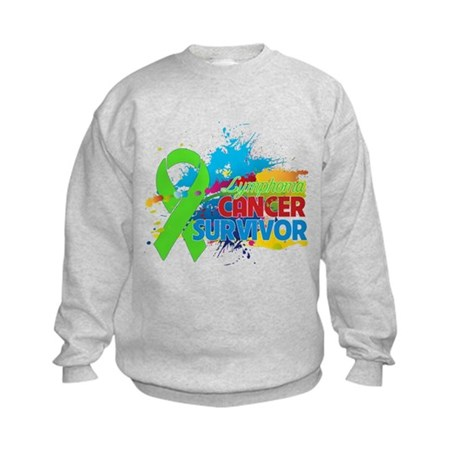 Colorful - Lymphoma Survivor Kids Sweatshirt