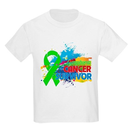 Colorful - Lymphoma Survivor Kids Light T-Shirt