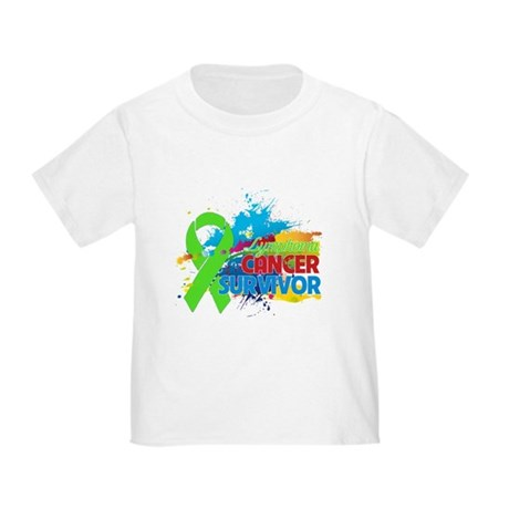 Colorful - Lymphoma Survivor Toddler T-Shirt