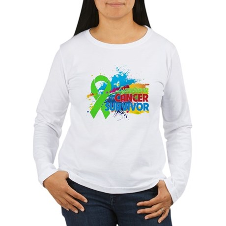 Colorful - Lymphoma Survivor Women's Long Sleeve T