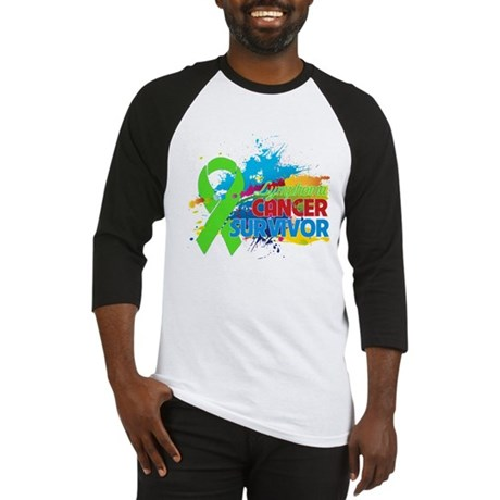 Colorful - Lymphoma Survivor Baseball Jersey